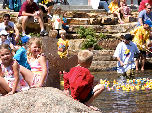 Summit Foundation Annual Rubber Duck Races