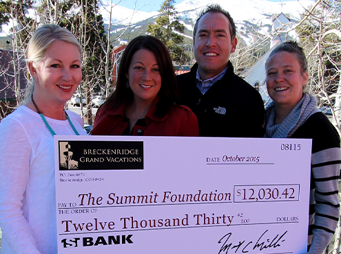 Breckenridge Grand Vacations Donor Advisory Fund