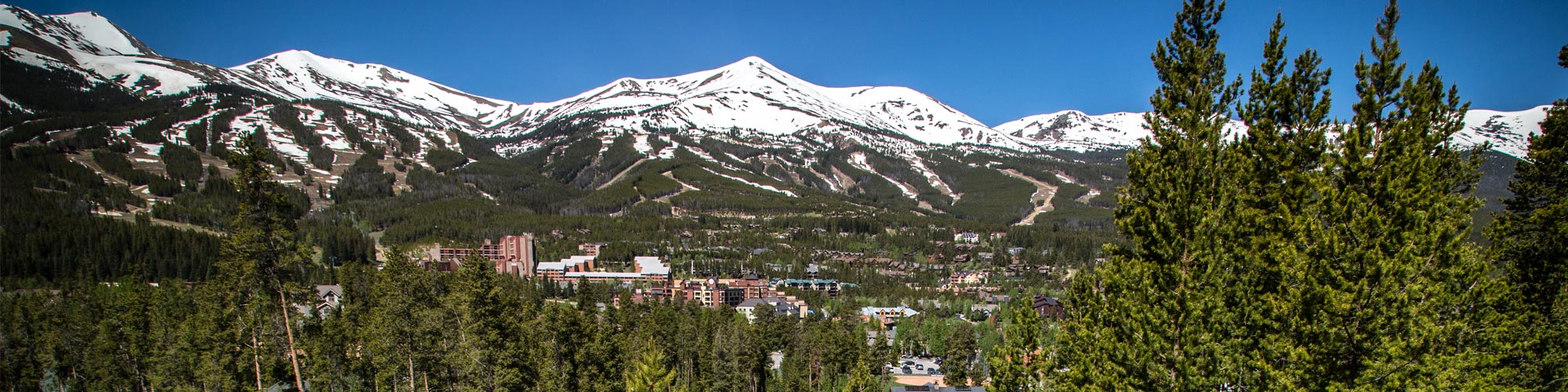 Breckenridge in the summer