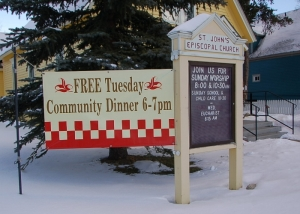 Free Community Dinner @ St. John the Baptist Episcopal Church